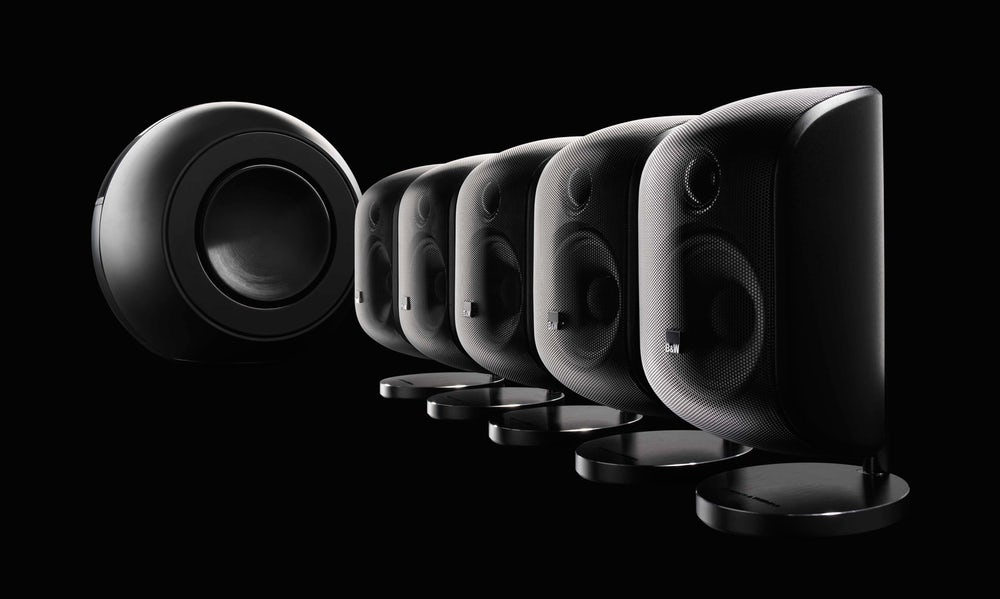Incredibly versatile subwoofer for home theatre systems