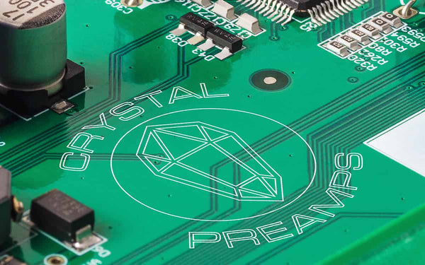 Crystal™ Preamps, Pristine A/D Converters and Premium Components