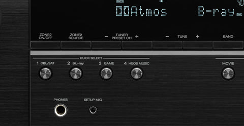 Quick Selects for User-friendly Audio Tuning