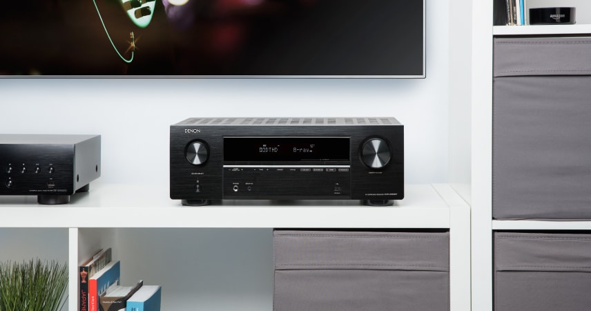 Powerful 5 Channel Discrete Amplifier with Eco mode