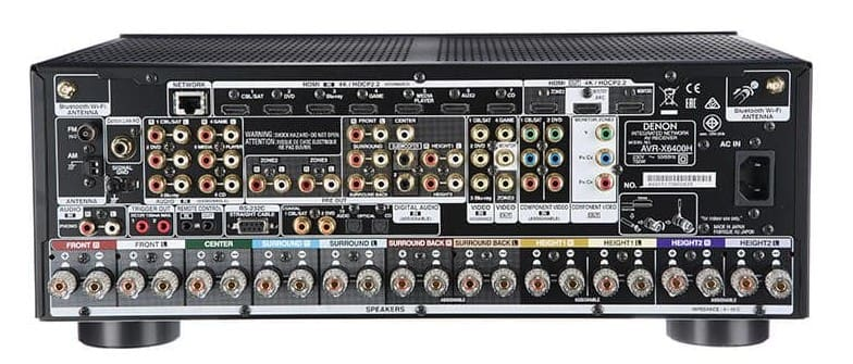Buy Denon Avr X6400h 11 2 Channel Av Receiver At Best