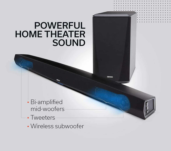 Powerful Home Theater Sound