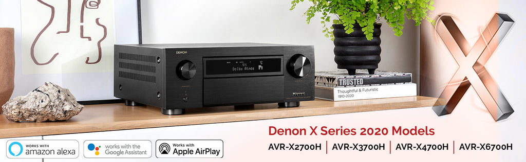 Denon X Series 2020 Models AV Receivers