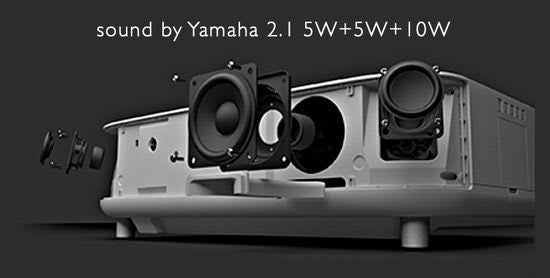 High Sound Quality, Audiophile 2.1 Speaker System by Yamaha
