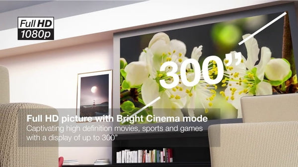 Benefits of EH-TW650 3LCD Home Theater Projector