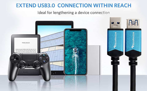 Ideal for lengthening a device connection