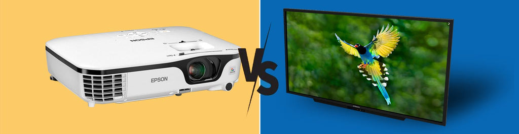 Projectors vs Flat Screen Displays -  Which is better for your Home Theatre?