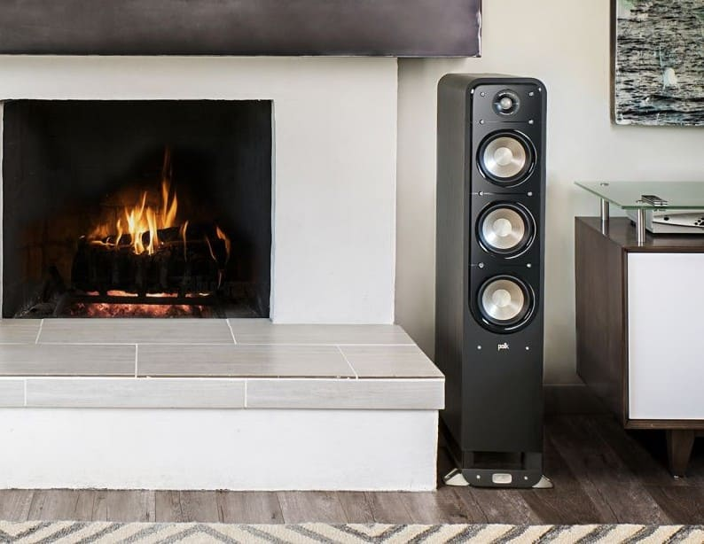 Powerful Floorstanding front speakers
