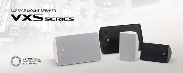 Highly adaptable surface mount speakers