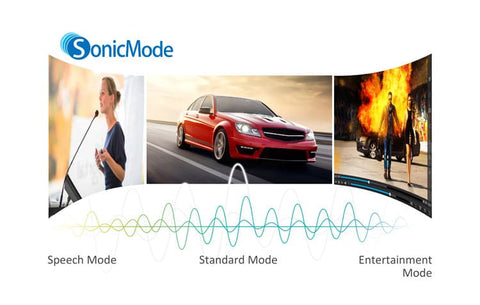 SonicMode for Enhanced Audio Performance