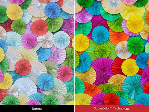 Bright Images with Amazing Color Accuracy