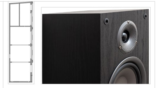 Robust and Aesthetically Appealing Cabinets Precision- Engineered For Superior Sound