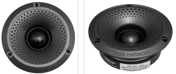 """New 6.5"""" (165 mm) Midrange Driver and Upgraded Dual 6.5"""" (165 mm) Woofer Drivers"""