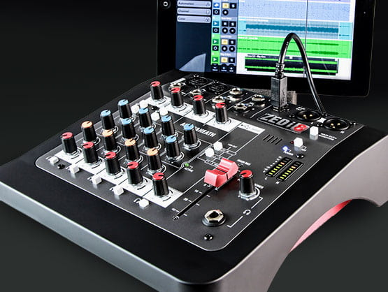 Mixer plus USB Interface