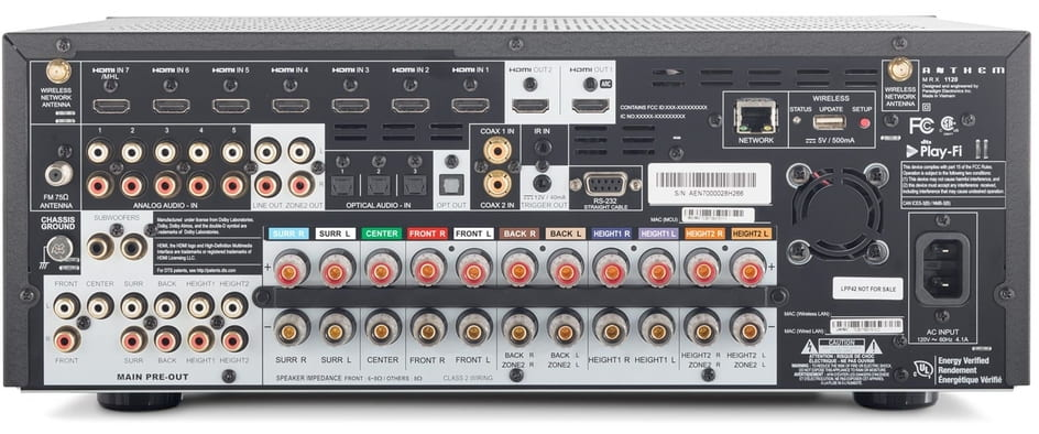 Multiple audio and video connectivity
