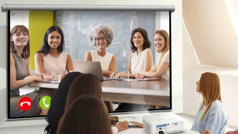 Video Conferencing at Work or Home