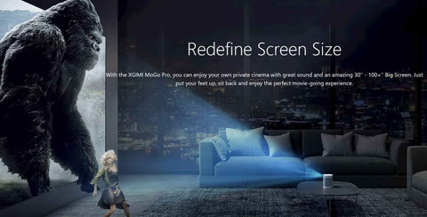 Redefine screen size