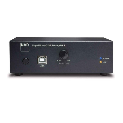 NAD PP4 Digital Phono USB Preamplifier - Front View