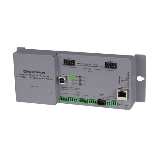 Crestron CAEN-BLOCK-CENCN-2-POE Ethernet to Cresnet® Bridge for CAEN Automation Enclosures