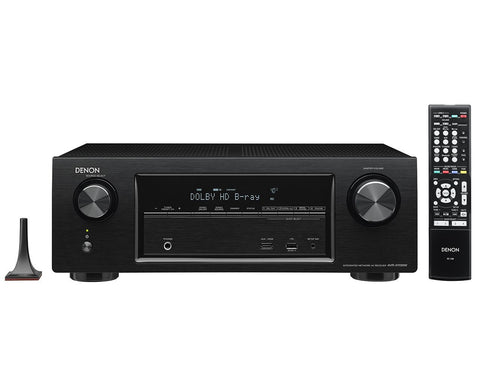 Denon AVR-X2400 7.2 Channel AV Receiver - Front View