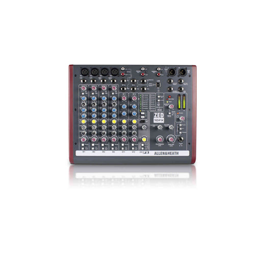 Allen & Heath (A&H) ZED-10FX Multipurpose Mixer with FX for Live Sound and Recording - Ooberpad