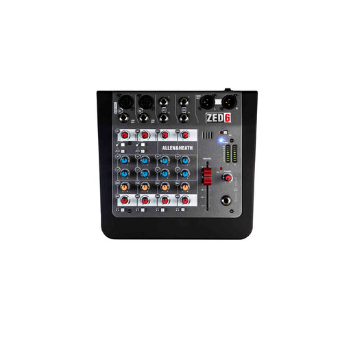 Allen & Heath (A&H) ZED-6 6-channel Live Mixer - Ooberpad