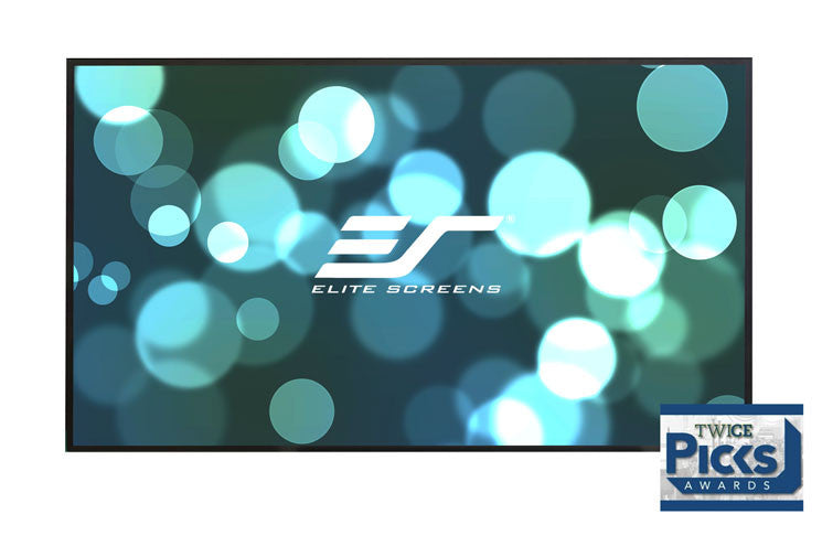 "Elite Aeon CineWhite 3D Fixed Frame Projection Screen 150"" 16:9 (AR150WH2) -  Ooberpad"
