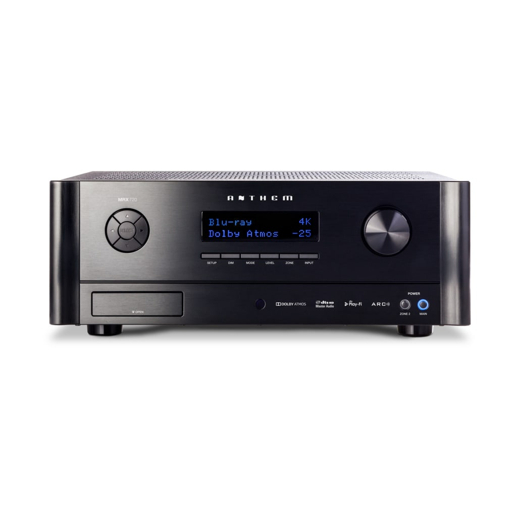 Anthem MRX 720 7.2 Channel AV Receiver - Front View