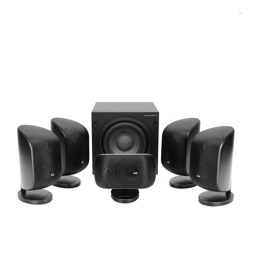 Bowers & Wilkins (B&W) MT-50D 5.1 Channel Speaker Package with ASW608 compact subwoofer -  Ooberpad