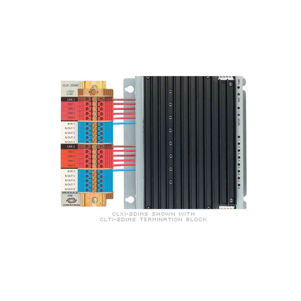 Crestron CLXI-2DIM8 - 8 Channel Dimmer Module -  Ooberpad
