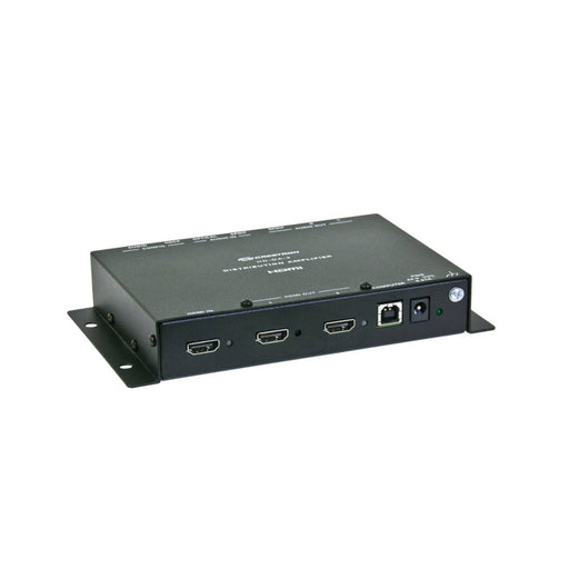 Crestron HD-DA-2 1-to-2 HDMI® Distribution Amplifier & Audio Converter