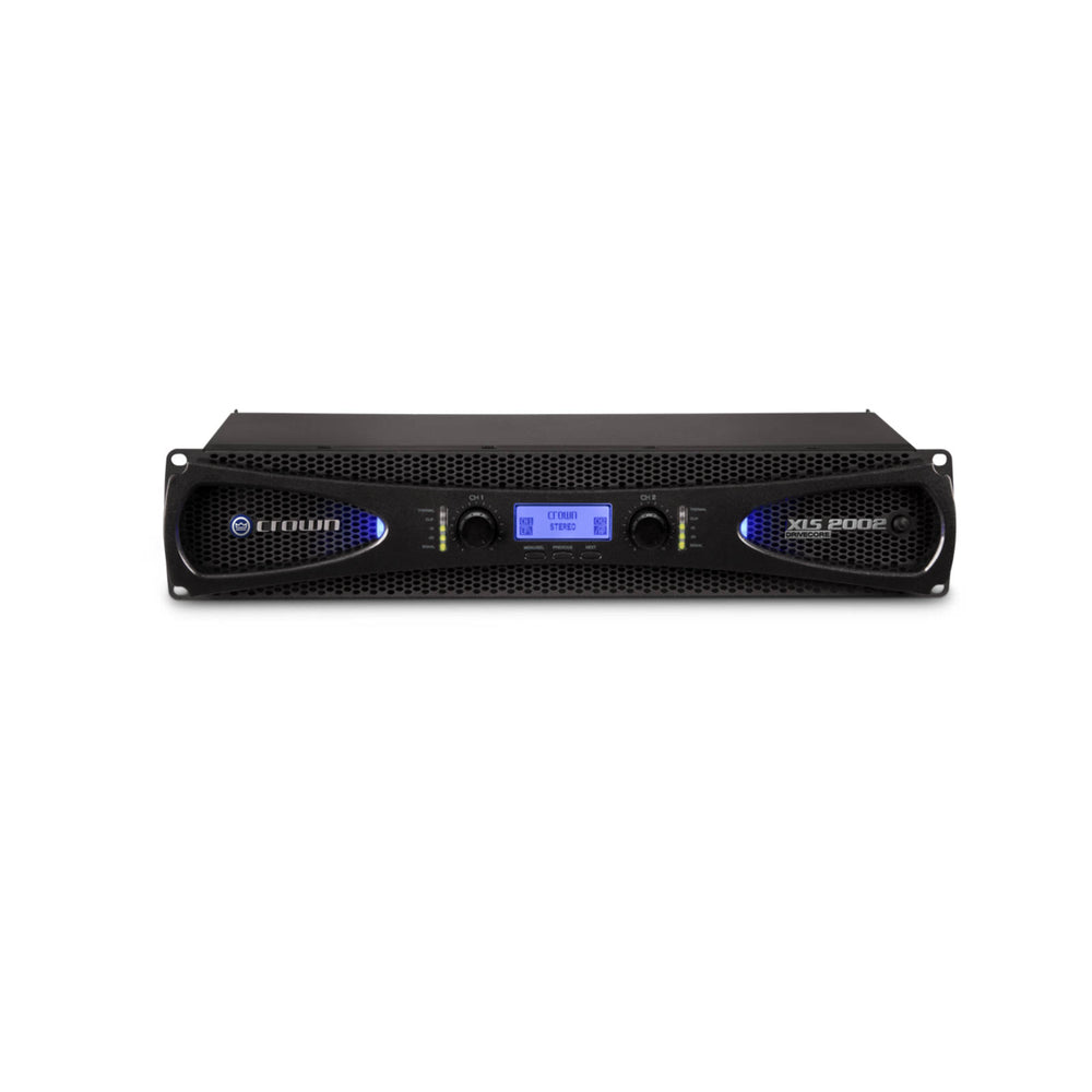 Crown XLS 2002 Power Amplifier - Front View - Ooberpad India