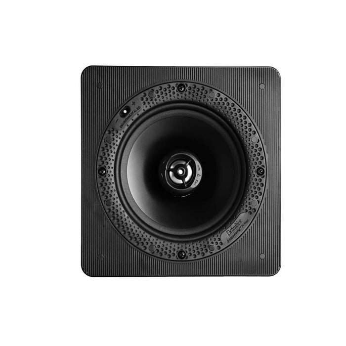 "Definitive Technology DI 6.5 S Square 6.5"" In-Wall / In-Ceiling Speaker (Each) - Ooberpad India"