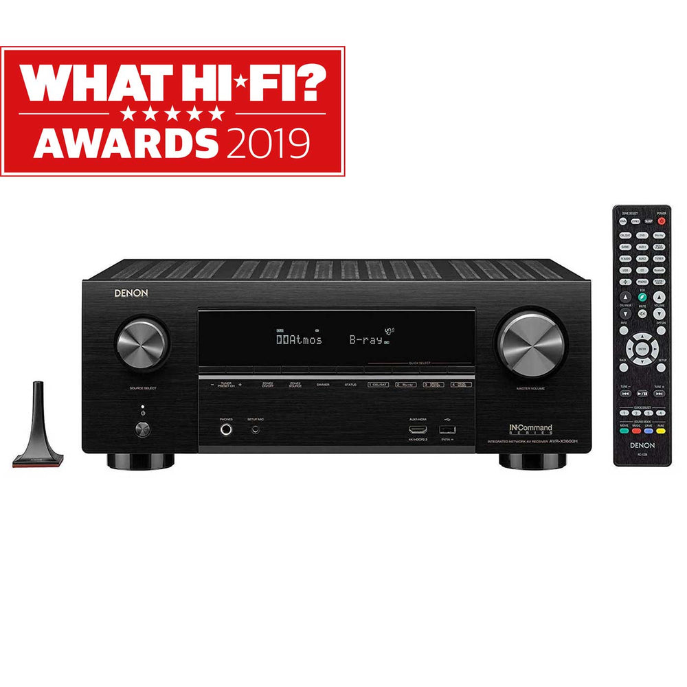 Denon AVR-X3600H 9.2ch 4K AV Receiver with 3D Audio and HEOS Built-in® -  Ooberpad