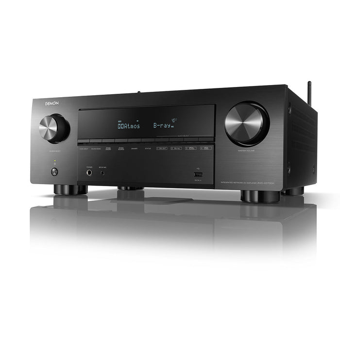 Denon AVC-X3700H 9.2ch 8K AV Receiver with 3D Audio, Voice Control and HEOS Built-in® - Ooberpad India