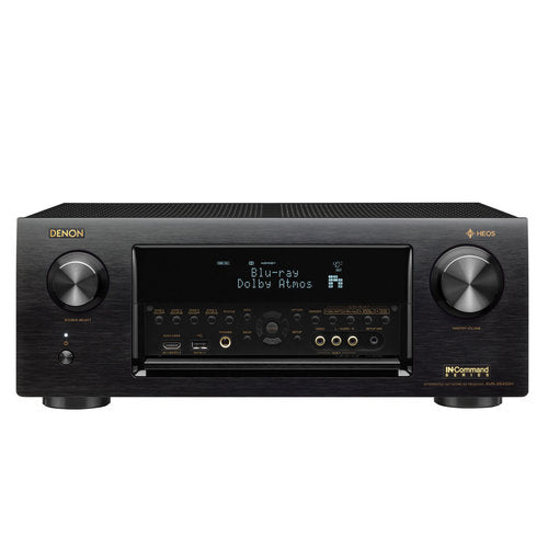 Denon AVR-X6400H 11.2 Channel Full 4K Ultra HD Network AV Receiver with HEOS