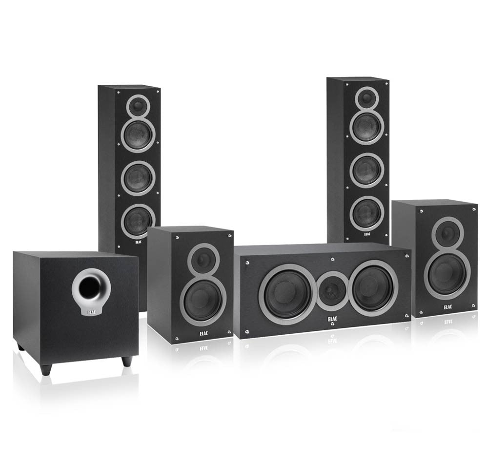 Elac Debut 5.1 Channel Home Theater Speaker System