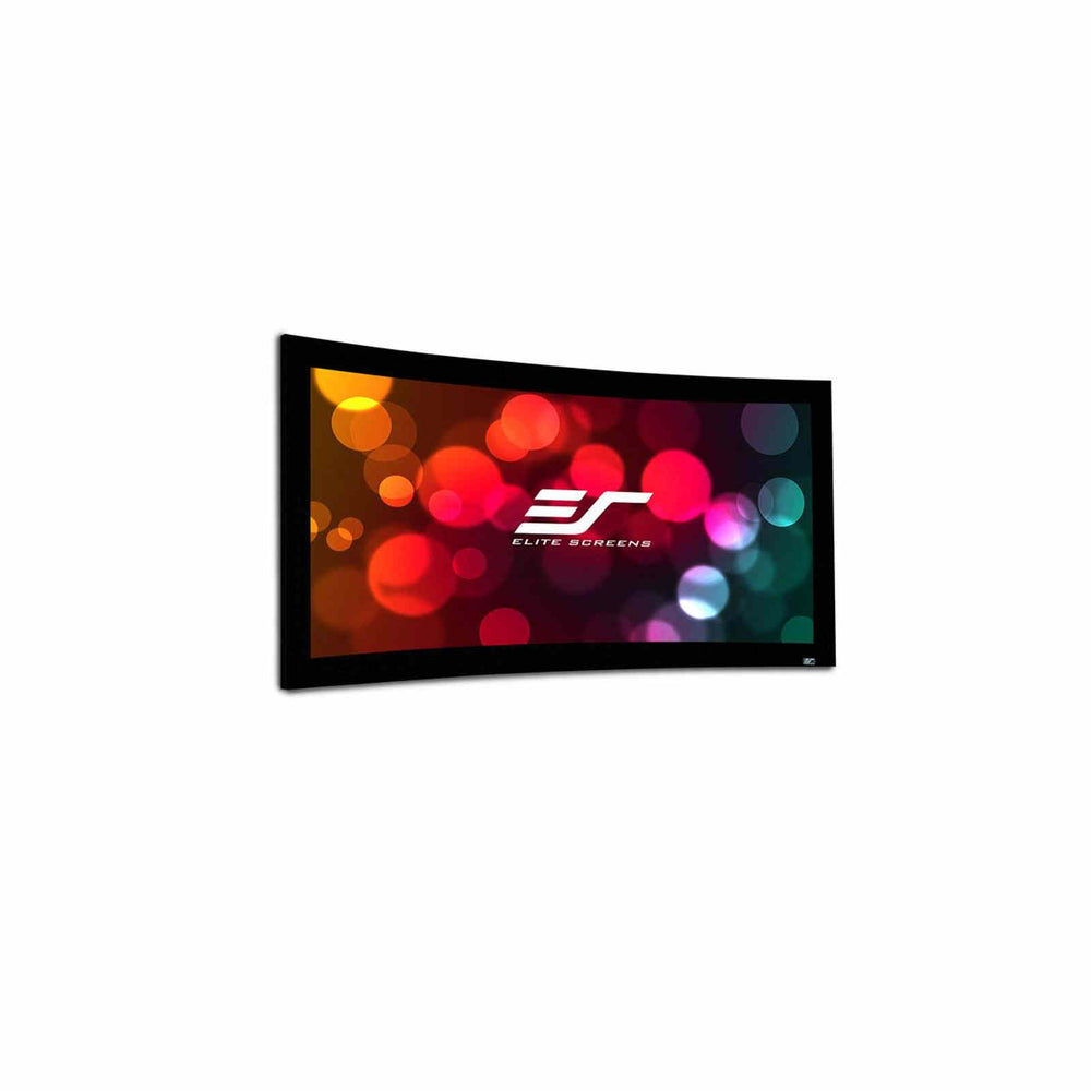 "Elite Lunette CineWhite Curved Fixed Frame Projection Screen 92"" 16:9 (Curve92WH1) -  Ooberpad"