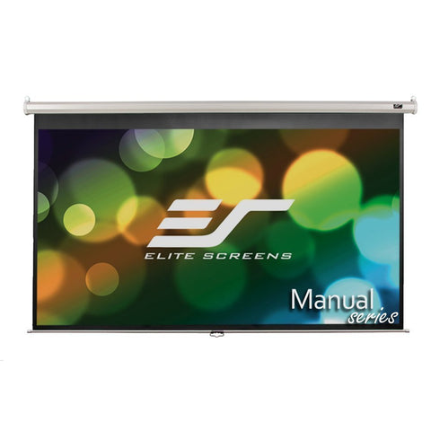 Elite M128UWX Projection Screen - Front View