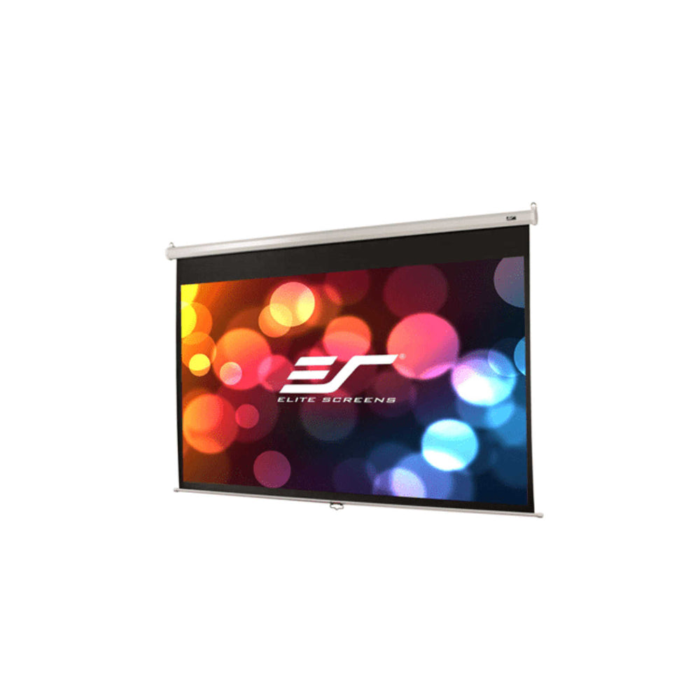 "Elite Manual Pull Down Projection Screen 109"" 16:10 (M109NWX) -  Ooberpad"