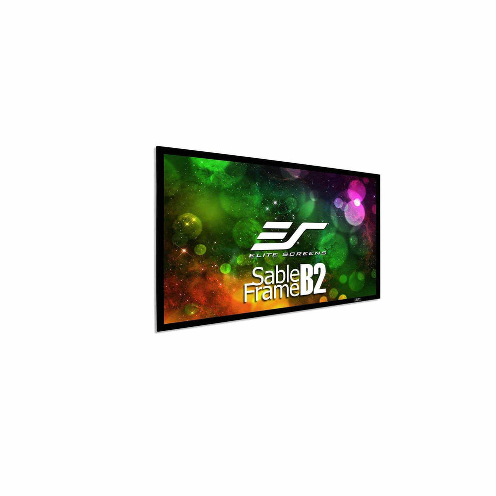 "Elite Sable Frame B2, Fixed Frame Home Theater Projection Screen 120"" 16:9 (SB120WH2) -  Ooberpad"