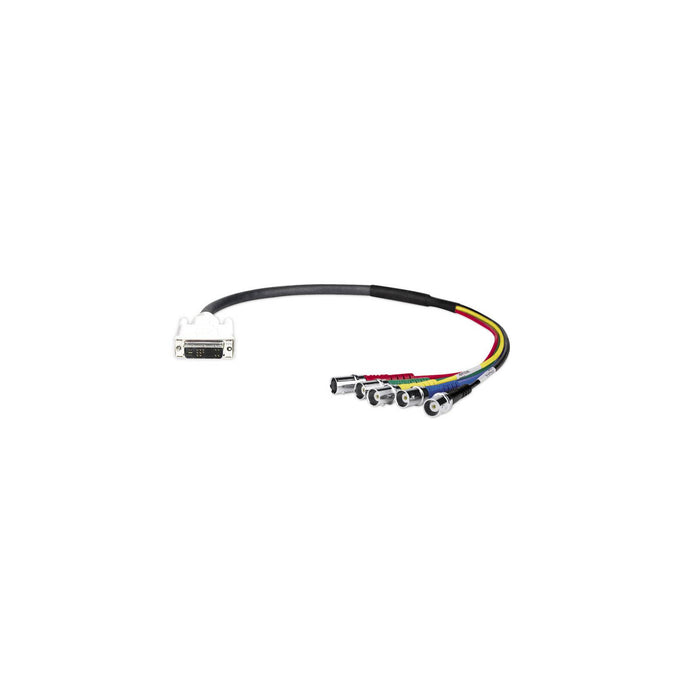 "Extron SY DVIAM-RGBHVF DVI-A Male to BNC Female Adapter - 6"" pigtail -  Ooberpad"