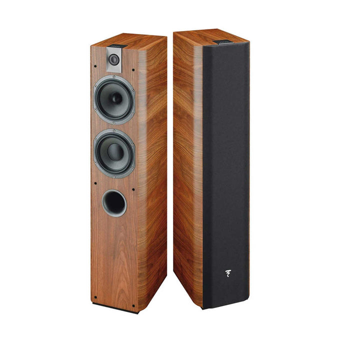 Focal Chorus 716V Floorstanding Speakers (Walnut finish) - Pair -  Ooberpad