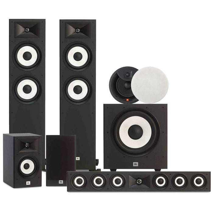 JBL Stage 5.1.2 Channel Home Theater Package