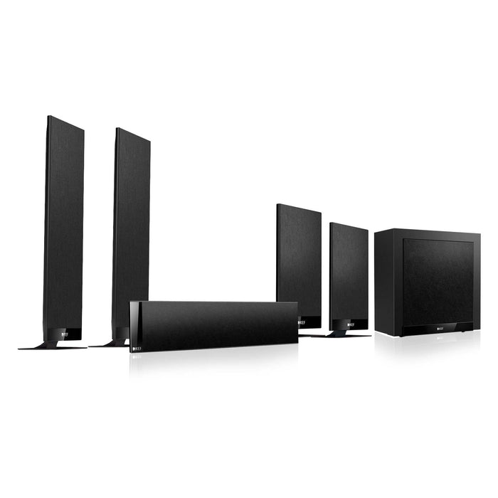 KEF T205 5.1 Channel Home Theater Speaker Package