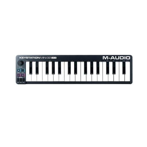 M-Audio Keystation Mini 32 MK3 Ultra Portable Mini USB MIDI Keyboard Controller - Ooberpad