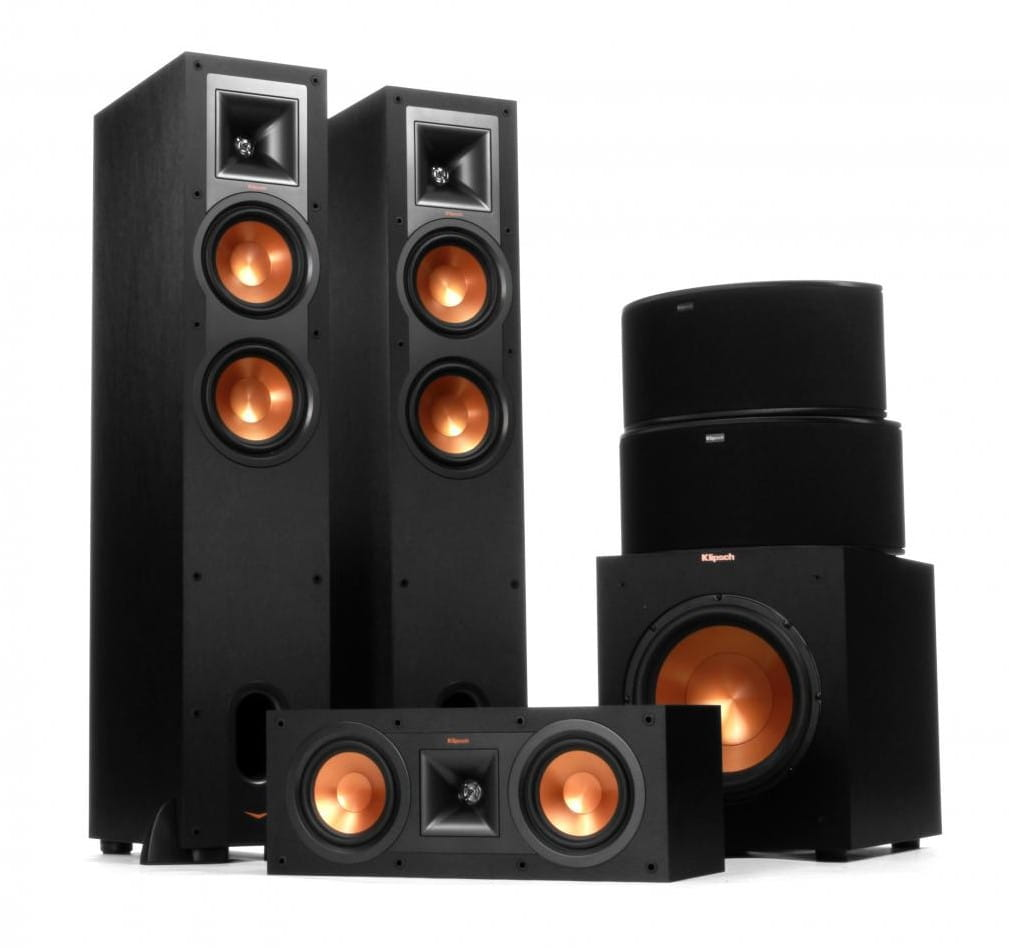 Klipsch Reference R-26 5.1 Home Theater Speaker Package