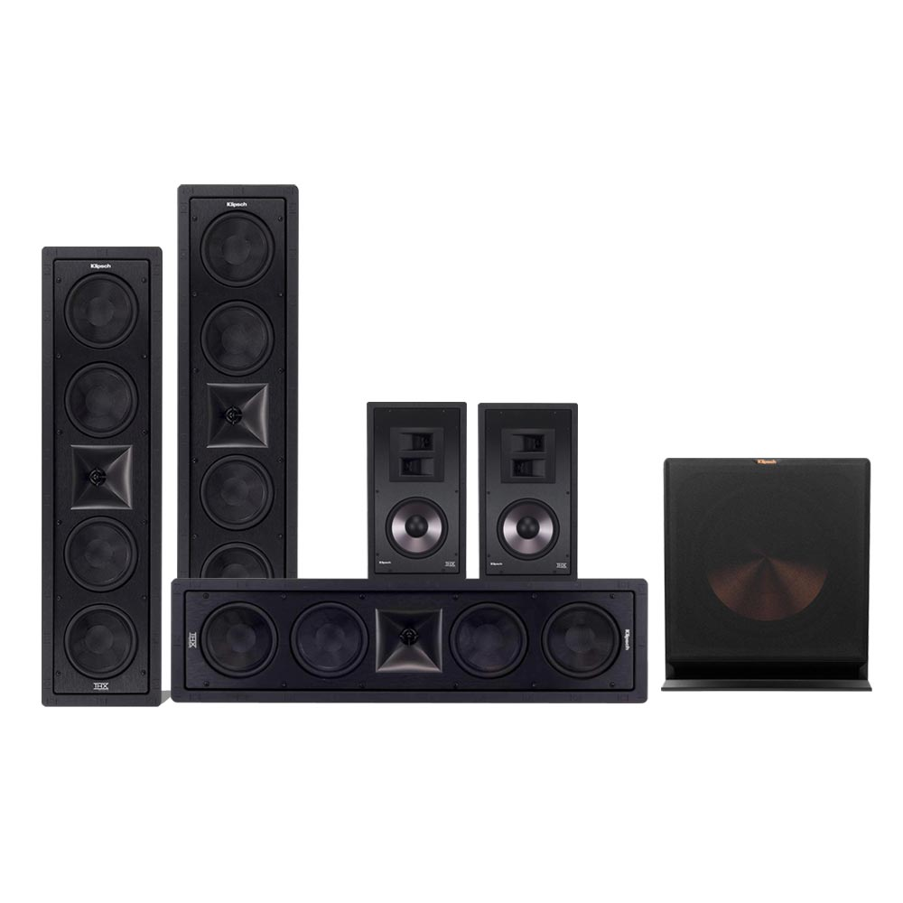 Klipsch THX 6504 with RW-115 5.1 Speaker Package