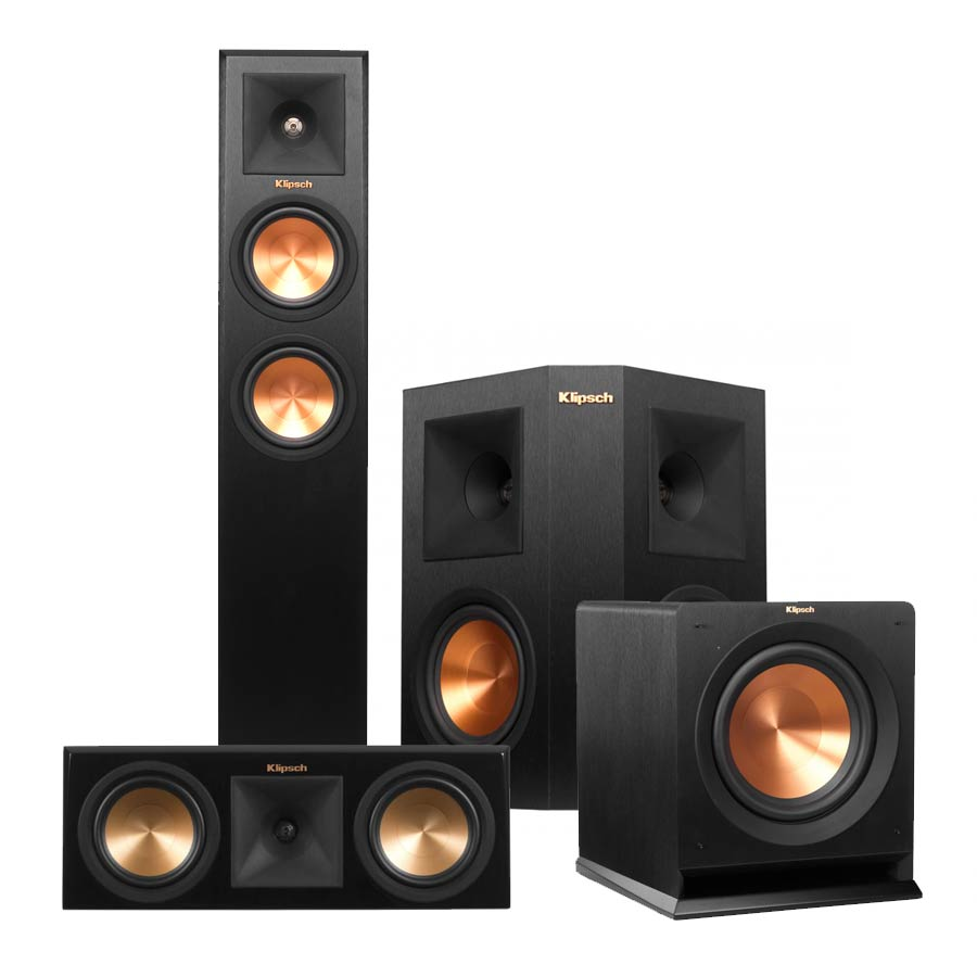 Klipsch Reference Premiere RP-250 5.1 Home Theater Speaker Package