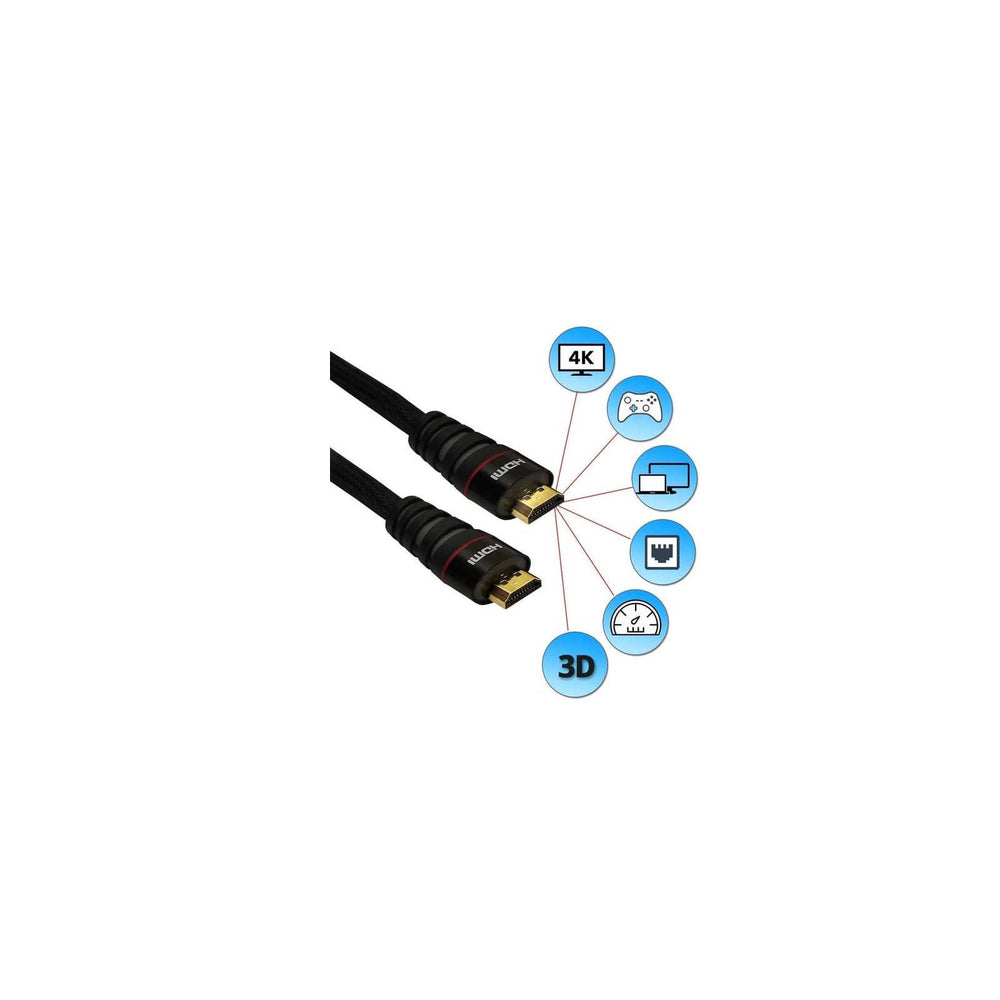 Lucido High Speed HDMI Cable  (10M/15M/20M) -  Ooberpad